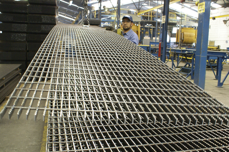 Steel Bar Grating Panels Metelmex